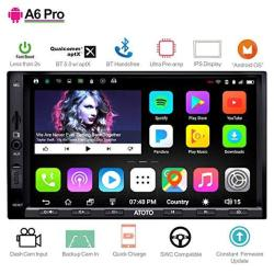 Atoto A6 Pro A6Y2721PRB 2DIN Android Car Navigation Stereo - Dual Bluetooth W aptx - Fast Phone Charge ultra Preamplifier - In D