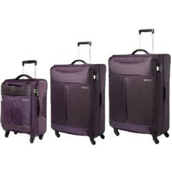 AMERICAN TOURISTER Sky 3 Piece Set Purple