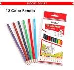 12 Foska Coloured Pencils