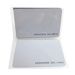 YARONG 125KHZ Rfid Card EM4100 Door Access Control Key Card Pack Of 200
