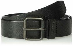 Boss Orange Men's Jesse Leather Belt Black 90
