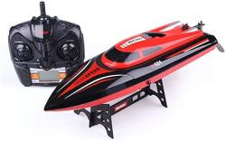 USA Aiojy Ships Prevent Ingress Water 4 Channels Model High Speed 20KM H Simulation Sports Rowing Electric Toy Remote Control Boat Rc Outdoor MINI Speedbo