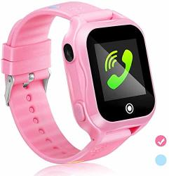 Kids Smartwatch Kids Smart Phone Watch With Waterproof And App Remote Control Unlocked Kids Smartwatches Phone With Voice Chat Touch Screen Camera Compatible With