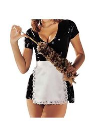 Sharone Sloane Latex Maids Dress