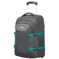 American Tourister Road Quest Backpack Grey turquoise