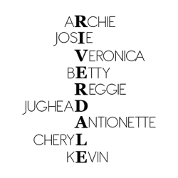 Riverdale Characters White