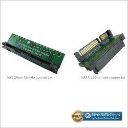Micro SATA Cables Sas 29 Pin To Sata 22 Pin Interposer Card | R | Other  Adapters | PriceCheck SA