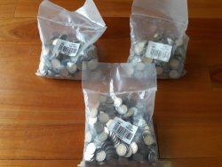 Mandela 90TH Birthday 2008 December Sealed Bag Coins Very High Grades 2BAGS Bid Per Bag
