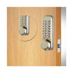 Codelocks CL290 Mortice Latch Combination Lock Back To Back