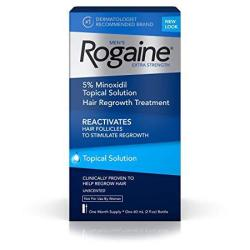 Men's Rogaine Extra Strength 5% Minoxidil Topical Solution For Hair Loss And Hair Regrowth Topical Treatment For Thinning Hair 1