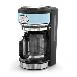 Russell Hobbs CM3100BLR Retro Style 8-CUP Coffeemaker Heavenly Blue