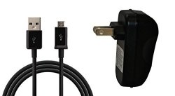 """Crazyondigital Home Wall Charger For Google Nexus 7 Kindle Fire Kindle Fire HD 7"""" 8.9"""" Black"""