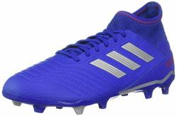 Adidas Men's Predator 19.3 Firm Ground Bold Blue silver Metallic active Red 9 M Us
