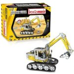 Full 1052PCS Alloy Jigsaw Puzzles Excavator Model Building Blocks Toy