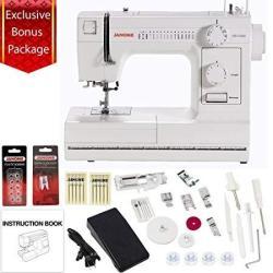 Janome HD1000 Mechanical Sewing Machine W Free Bonus Package By Janome