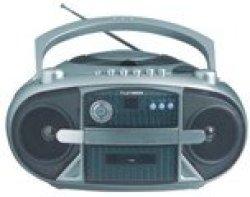 Telefunken Portable Radio Cassette And Cd Player 2X1.2W