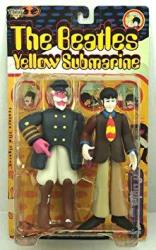The Beatles- Yellow Submarine: Paul With Captain Fred Figurines