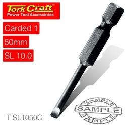 Tork Craft S d Power Bit 10mmx50mm Slotted 1 cd