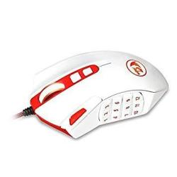 Redragon M901 Gaming Mouse Wired Programmable Mmo Rgb LED Mice 24000 Dpi Laser High Precision Sensor Weight Tuning Set 18 Button