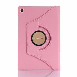 Rotate Case Stand For Samsung Galaxy Tab S5E Pink