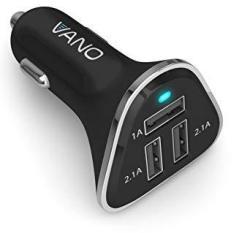 EWarehouse Vano Fast 3 Port USB Cigarette Lighter Car Charger For Apple Iphone Samsung Ipad Tablet E-reader Portable Phone Adapt