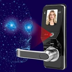 Facial Recognition Door Lock Smart Electronic Keyless Face Recognition Password Ic Card Anti-theft Security System For Home Office Apartment