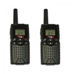 Zartek - Com8 Twin Pack Two Way Radios - Black