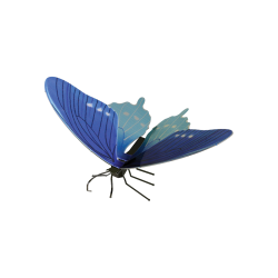 Metal Earth Pipevine Swallowtail Butterfly