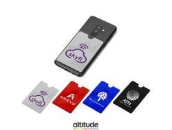Dakota Rfid Phone Card Holder - Black