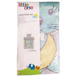 LITTLE ONE - Duvet Cover Set Bunny Mint
