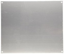"""Integra ABP1816 Aluminum Panel For Use With 18"""" X 16"""" Enclosure 16.75"""" Height 14.88"""" Width"""
