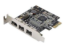 Syba Low Profile Pci-express Firewire Card With Two 1394B Ports And One 1394A Port 2B1A TI Chipset Extra Regular Bracket SD-PEX3