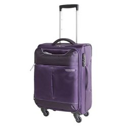 American Tourister Sky 55cm Spinner Purple