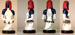 Dynamic Forces Fully Painted Mystique MINI Bust Limited Edition Of 525