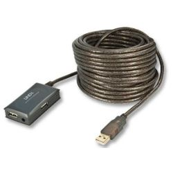 Lindy 10M USB2.0 4-PORT Hub Extension Cable 42630
