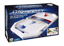 International Playthings Game Zone - Electronic Table-top Air Hockey - Fast-paced Sports Fun In An Easily Portable Battery-opera