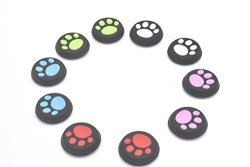 5 Pairs Replacement Thumb Stick Grips Cap Cover Joystick Thumbsticks Caps For PS4 Xbox One Xbox 360 PS3 PS2 Controller