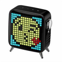 Max H Rsein Pixel Art Bluetooth Wireless Speaker With 2.1 Audio System 40W Output Subwoofer App Control Suitable For Ios And And