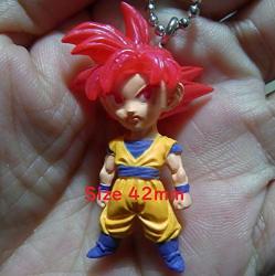 Dragon Ball Super Udm Best 28 Figure Swing Keychain ssg Son Goku