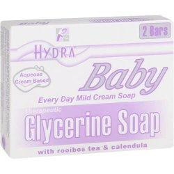 Hydra Baby Glycerine Soap 100G X 2