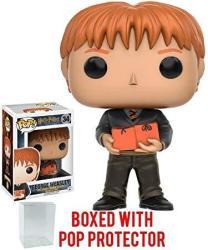 USAB Funko Pop Movies: Harry Potter - George Weasley Vinyl Figure Bundled With Pop Box Protector Case