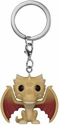 Funko Pop Keychain: Game Of Thrones - Regular Viserion Multicolor