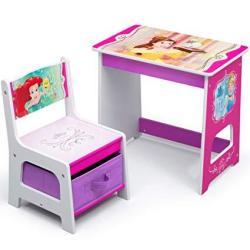Disney Princess Kids Wood Desk And Chair Set By Delta Children
