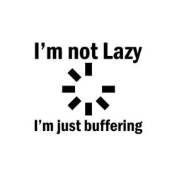 I'm Not Lazy White