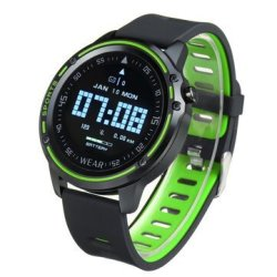 Bakeey L8 Ecg Ppg Heart Rate Blood Pressure SPO2 Monitor Weather Push Bluetooth Mu