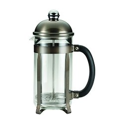 Bonjour 59935 8-CUP 33.8-OZ German Borosilicate Glass French Press 8 Cup Truffle