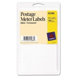 Avery Postage Meter Labels 1-1 2 X 2-3 4 Pack Of 160 5288