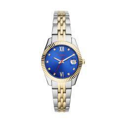 Fossil Women Scarlette MINI Multi Round Stainless Steel Watch - ES4899