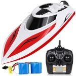 INTEY Rc Boats For Kids & Adult - H102 20+ Mph Remote Controlled Rc Boat For Pool & Lakes Speed Boat With 4 Channel