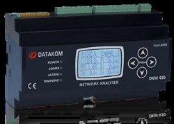 Multiple DKM-430 Network Analyser Datakom Network Analysers